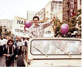 Harry Britt in Parade