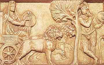 Cybele and Attis